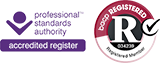 bacp and approved register logo